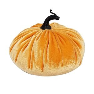 2/$15 - *NEW* Orange Velvet Pumpkin
